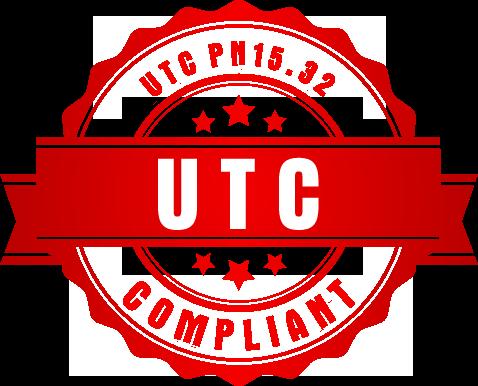 UTC PN15.32 Compliant